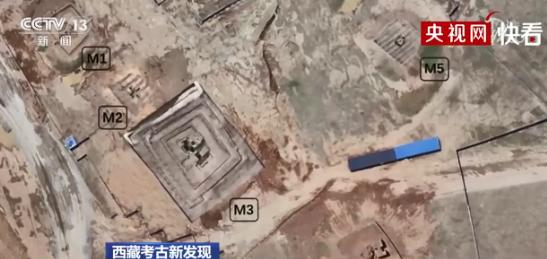 西藏发现多座吐蕃时期高级墓葬,出土唐风黄金挖耳勺,银盘上居然还有希腊酒神