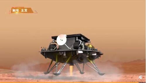 天问一号着陆的惊魂九分钟!136秒动画模拟全过程比科幻片还科幻