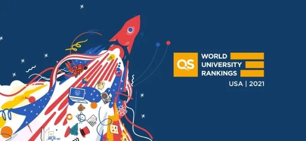 QS发布2021美国高校排名!哈佛继续领跑,UCLA上升一位(附榜单)