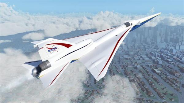 2022年首飞!NASA公布X-59静音超声速技术验证机进展,大大降低音爆
