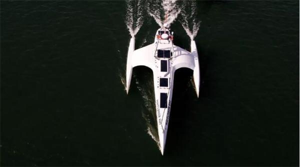 """耗时12天!""""五月花""""号自动驾驶船将横渡大西洋,正开展海试和科考"""