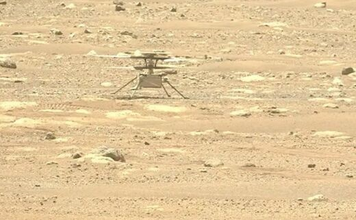 "NASA首次公布""机智号""飞行声音,直升机在火星上发出的声音是这样的……"
