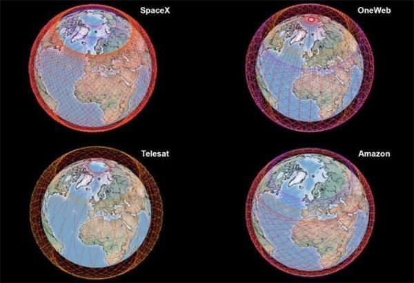 卫星互联网哪家强?MIT比较了星链、OneWeb、Telesat和亚马逊的数据传输容量