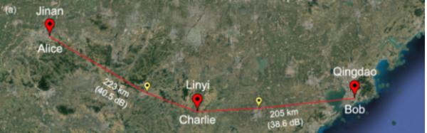 突破500公里!我国科学家创造现场光纤量子通信新世界纪录