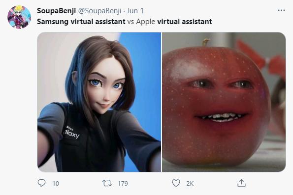 三星最新虚拟助手提前泄露,网友:迪士尼公主!