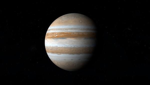 "NASA""朱诺号""最新捕捉到木星及木卫三图像:云层、气旋和""珍珠链""令人惊叹"