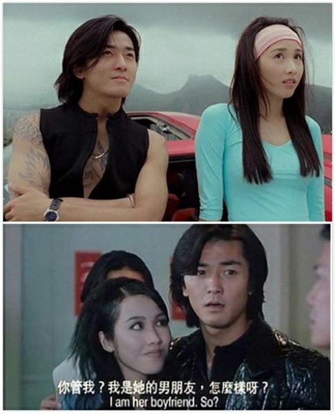 张柏芝与郑伊健合作过多部影视剧,如《蜀山传》,《烈火战车2极速传说图片