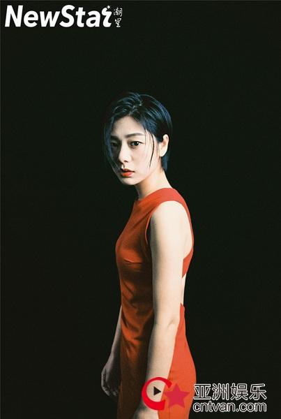 王真儿杂志大片曝光 冷艳有型气质撩人