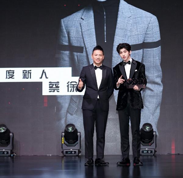 聂远武大靖白宇蔡徐坤 他们是今年GQ的年度人物