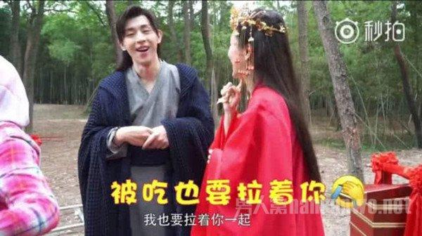 杨紫邓伦牵手千年虐恋,看到他们花絮这么甜我就放心了!