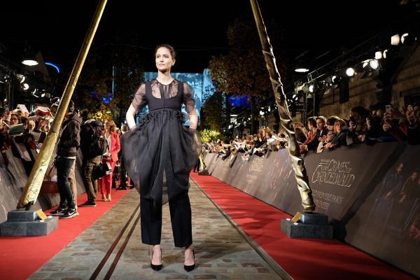 《神奇动物:格林德沃之罪》全球首映礼盛况空前 华丽视效魔法情怀获外媒称赞
