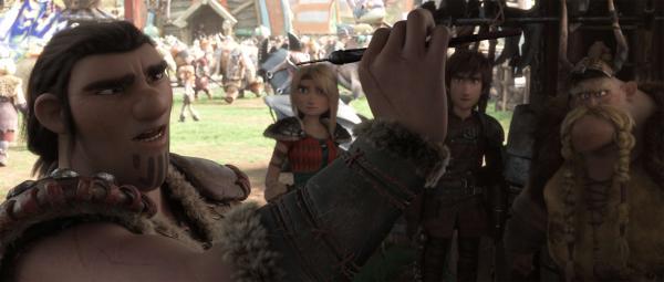 史诗之战热血开启在即 《驯龙高手3》恢弘人龙大战即将献映