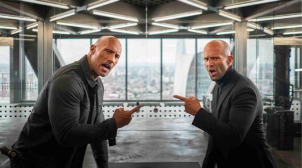 《速度与激情:特别行动》 巨石强森、杰森•斯坦森激燃上演反套路兄弟情
