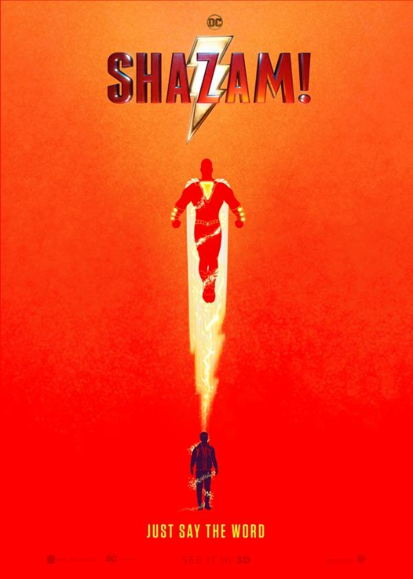 《雷霆沙赞!》艺术海报完美展现英雄气度 北