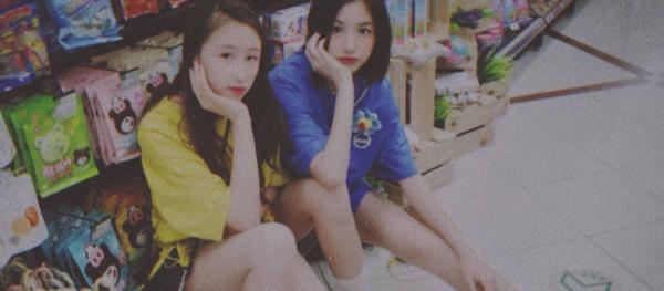 汪峰14岁女儿小苹果近照颜值高 扎哪吒头逛超市秀美腿