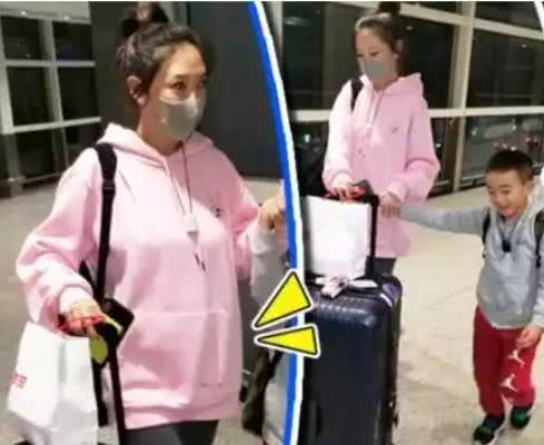 陈小春杨千嬅两家同出国度假 怀二胎应采儿凹造型状态好