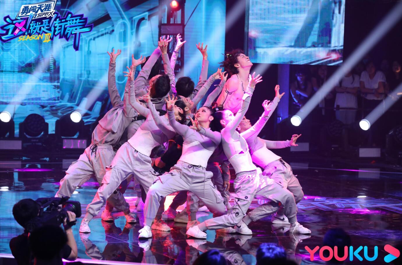 《这!就是街舞》第三季全国7强晋级总决赛 黄潇淘汰惹乔治大哭
