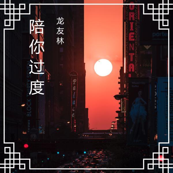 新歌推荐《陪你过度》龙友林2020年原创歌曲