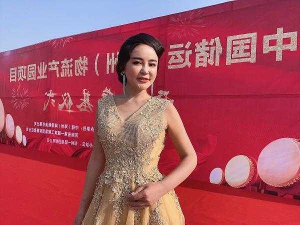 张瑞一主持中国储运物流园开工奠基