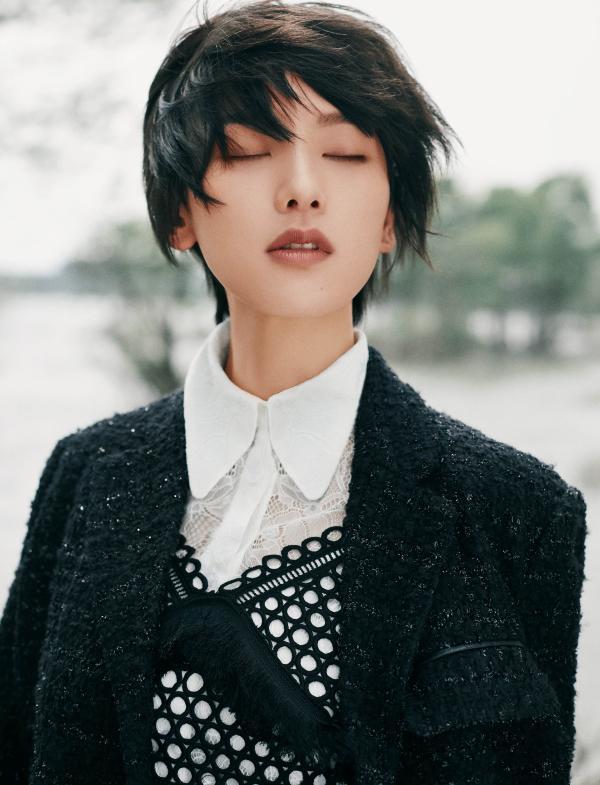 李晓峰初秋时尚大片 在慵懒里精致的中性魅力