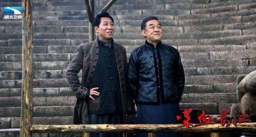 《喋血长江》湖北开播 王媛可王雨夫妻档民国商战