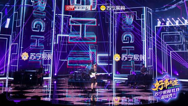 时代少年团舞狮技能满分北京卫视《苏宁易购1111超级秀》花式舞台不一般