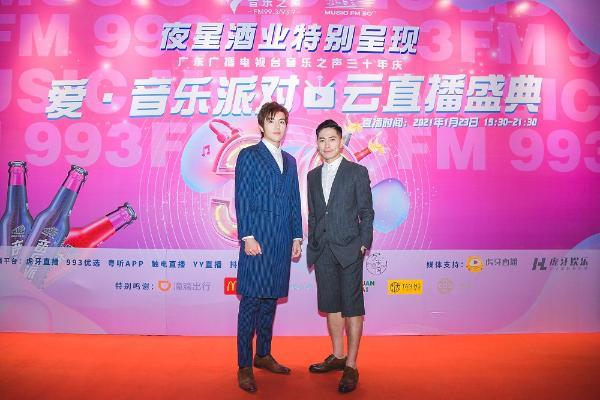 赵宇成在罗钧满的惊喜亮相 音乐之声 经典金曲演绎 实力闪耀的台庆舞台