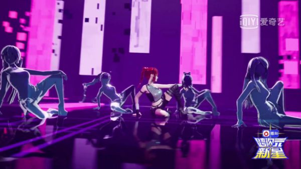 留歌Amy《跨次元新星》夺冠 揭秘背后公司蜜枝科技