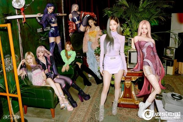 aespa 《Black Mamba》 MV点击量超过1亿 创造K-POP出道MV史上最短的新纪录