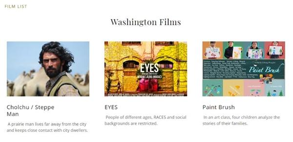 《画笔》出现在华盛顿国际电影节并获得最受欢迎的奖项