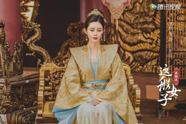 《我就是这般女子》正在播出的宝藏女孩王艺玲首映式古装网剧惊艳全场