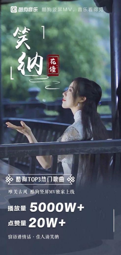 酷狗竖屏MV,影视剧OST宣发的新途径