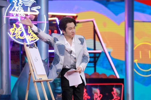 """《接招吧前辈》黄祖霖的秘密舞者""""蓝蓝""""在线跳舞"""