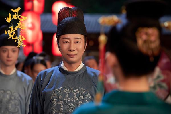 于洪州《风起霓裳》演绎阿翁孙德成 细腻演技受好评