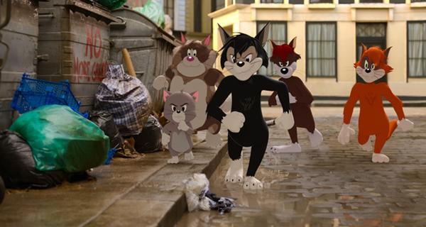 《猫和老鼠》汤姆·杰瑞大吵大闹 高高兴兴回到城里