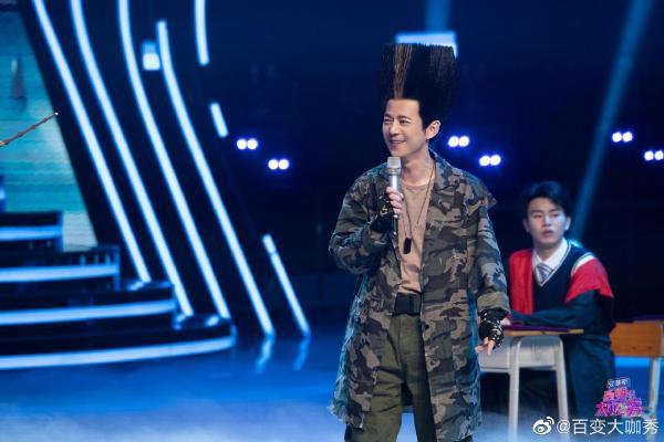 今晚《百变大咖秀》: 00!金晶与张搭档嘲笑观众