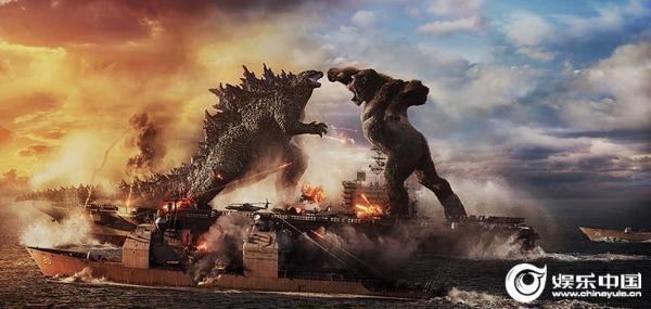 《哥斯拉大战金刚》曝光《双王对决》三月版预告怪物对决燃烧