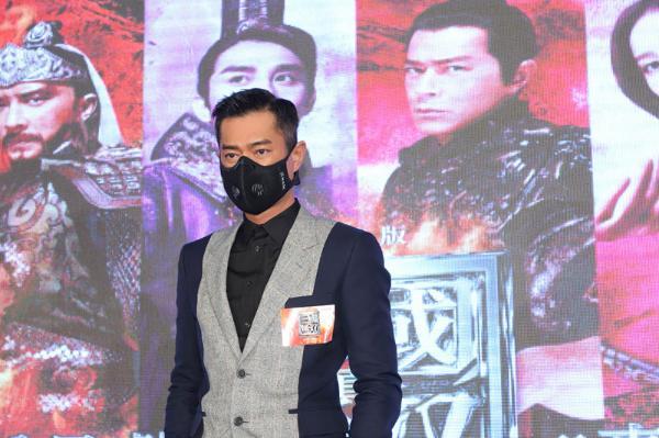 古天乐现身《真·三国无双》香港首映会 曝眼球受伤原委
