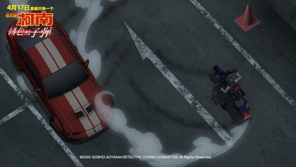 """《名侦探柯南:绯色的子弹》发布全球版预告 高山南为中国观众惊喜""""打call"""""""