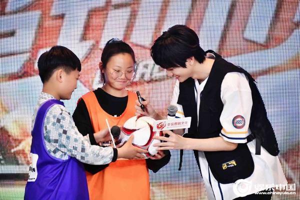《超球少年2》媒体见面会苏程朝秋全国青年海上选举公益召集人