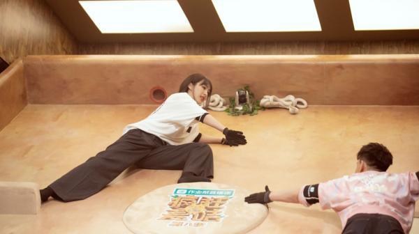 """李菲儿《疯狂的麦咭8》有多励志?阎鹤祥""""吐槽"""":她太拼了!"""