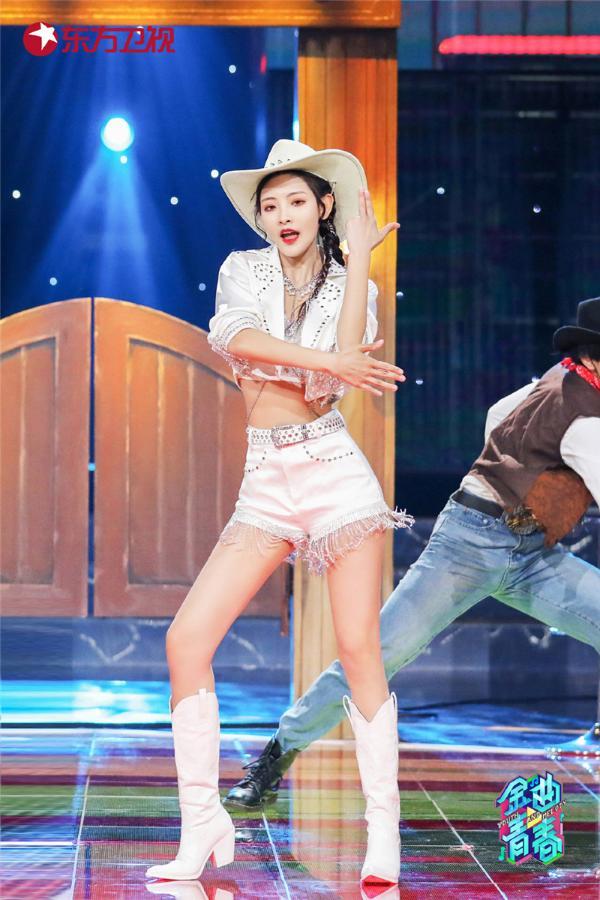 东方卫视《金曲青春》戴萌、SNH48李佳恩演绎牛仔版《有一个姑娘》