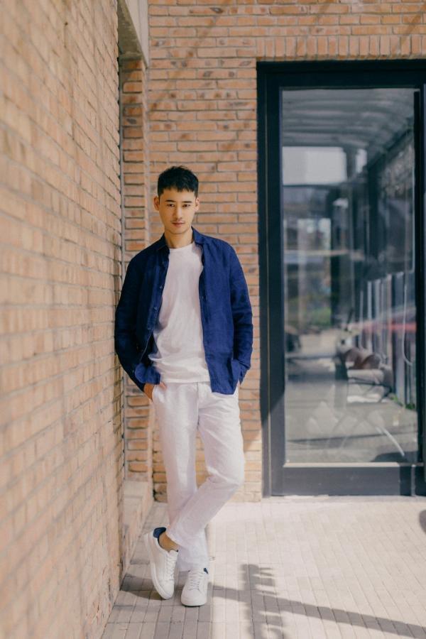 中国国际时装周:演员王柯皓受邀出席罗拉密码专场