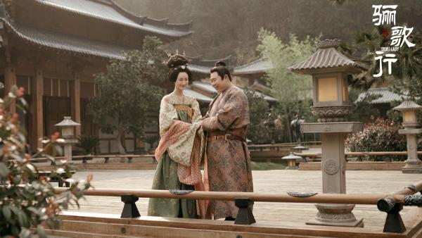 刘恩尚《骊歌行》热播 韩王夫妇情深缘浅演绎虐恋