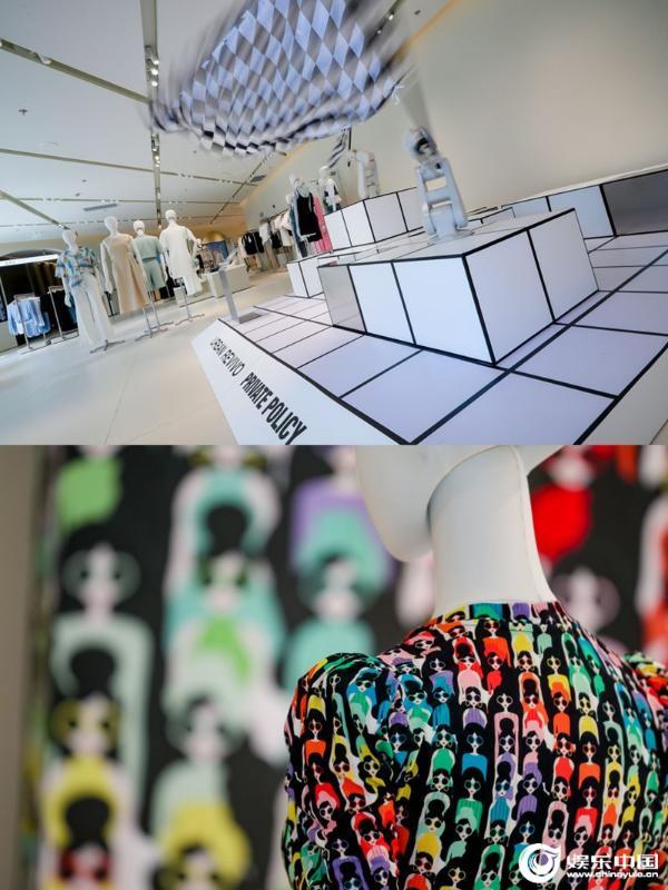 裙装上阵闪耀开场 UR设计师联名系列裙装秀亮相广晟旗舰店