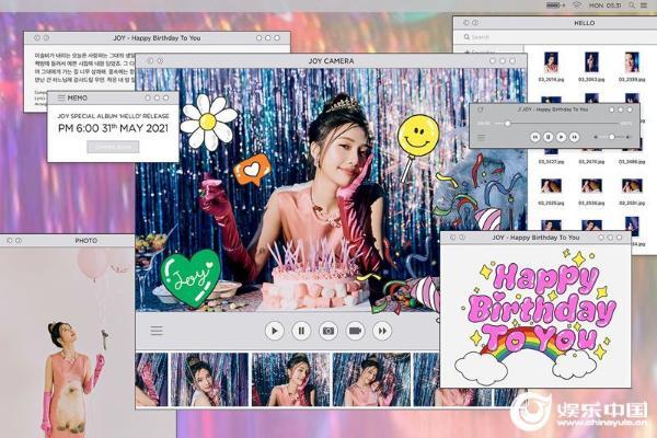 Red Velvet成员JOY翻唱《Happy Birthday To You》 预告清爽的维他命声线