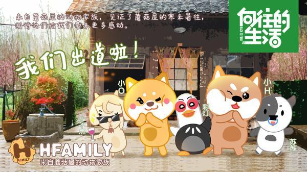 """Hfamily动物家族""出道,首开综艺形象IP之路!"