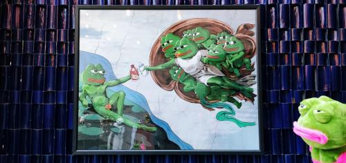 当丁禹兮遇见悲伤蛙 小小表情包大有可为