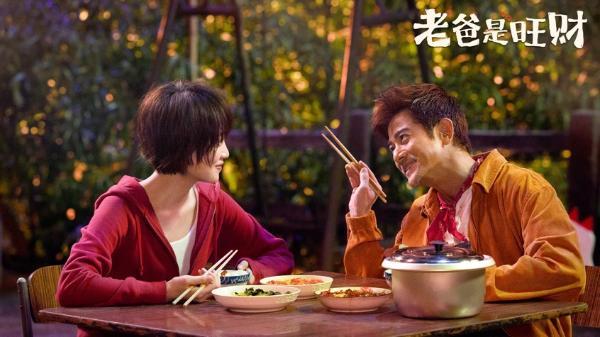 蓝盈莹新片合作影帝郭富城 2021黑马预定?