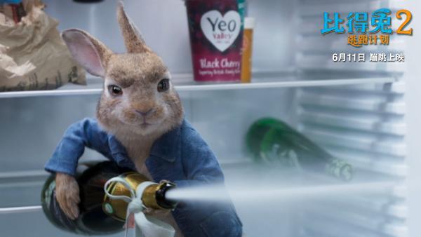《比得兔2:逃跑计划》特效满分 让可爱渗透到每一根毛发